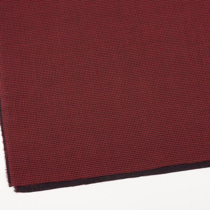 コットン×チェック(レッド&ブラック)×Wガーゼ_全3色 イメージ2