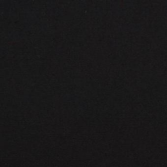 コットン×無地(ブラック)×ポプリンワッシャー_全2色
