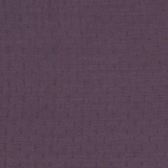 ポリエステル×ドット(プラムパープル)×薄サージジャガード_全3色