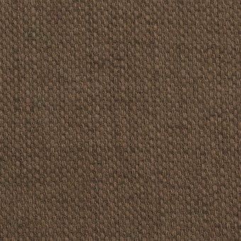コットン×無地(ブラウン)×ホップサック(斜子織)_全2色