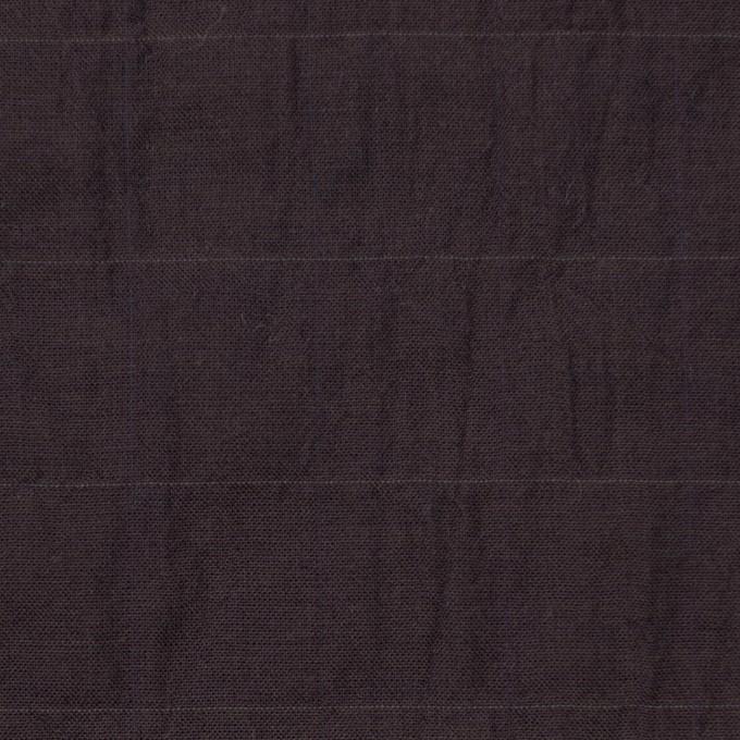 コットン&テンセル混×無地(レーズン)×シャンブレーボイル イメージ1