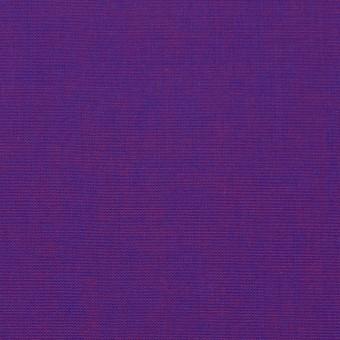 コットン×無地(ロイヤルパープル)×シャンブレー_全2色