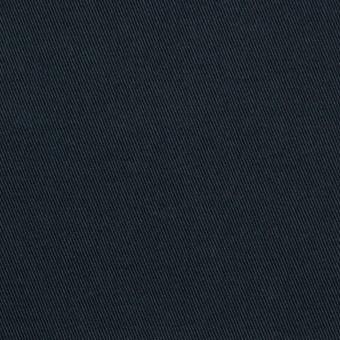 コットン×無地(ダークネイビー)×チノクロス・ストレッチ