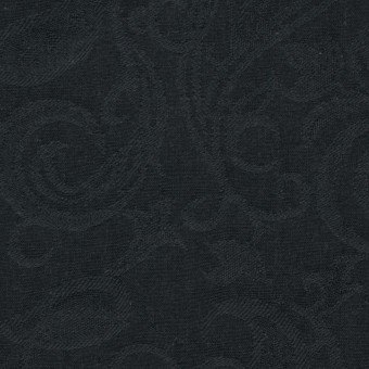 コットン×ペイズリー(チャコールブラック)×ジャガード