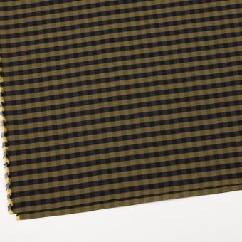 コットン&ポリエステル×チェック(イエローゴールド)×形状記憶タフタ_全4色 サムネイル2