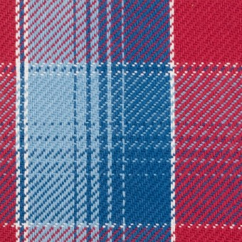 コットン×チェック(レッド&サックス、ネイビーブルー)×ビエラ_全3色 サムネイル1