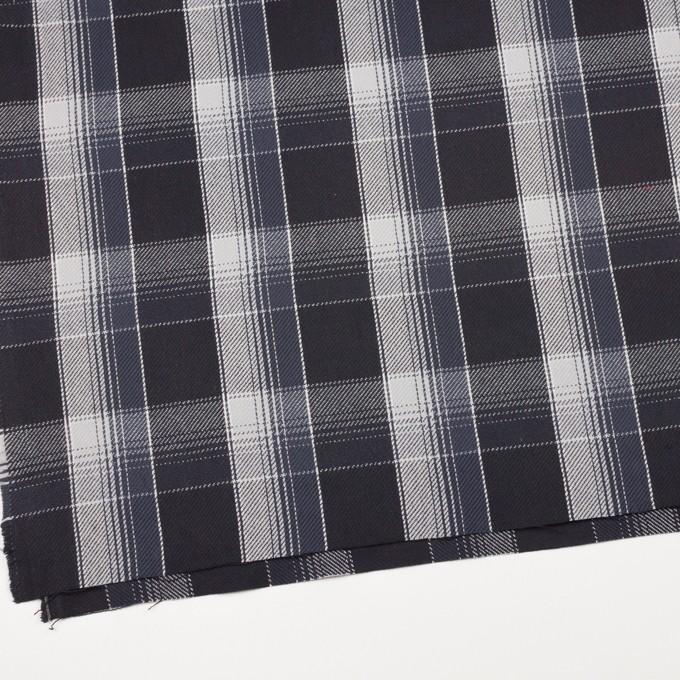 コットン×チェック(ブラック&ライトグレー、アイアンネイビー)×ビエラ_全3色 イメージ2