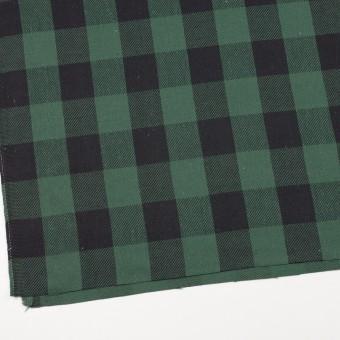 コットン×チェック(ホーリーグリーン&ブラック)×ビエラ_全3色 サムネイル2