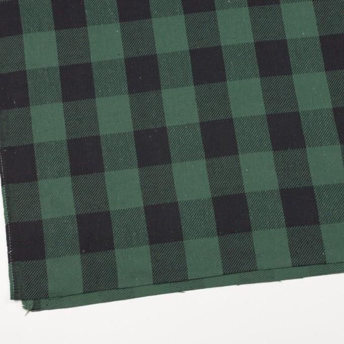 コットン×チェック(ホーリーグリーン&ブラック)×ビエラ_全3色 イメージ2