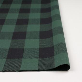 コットン×チェック(ホーリーグリーン&ブラック)×ビエラ_全3色 サムネイル3