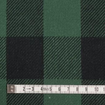 コットン×チェック(ホーリーグリーン&ブラック)×ビエラ_全3色 サムネイル4