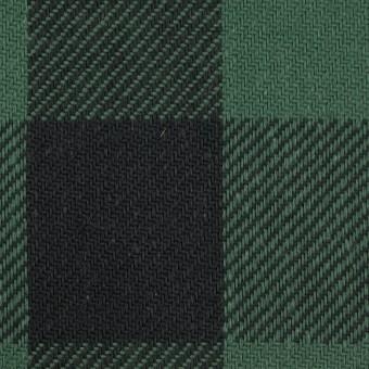 コットン×チェック(ホーリーグリーン&ブラック)×ビエラ_全3色 サムネイル1