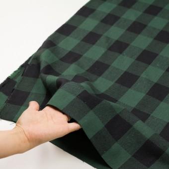 コットン×チェック(ホーリーグリーン&ブラック)×ビエラ_全3色 サムネイル5