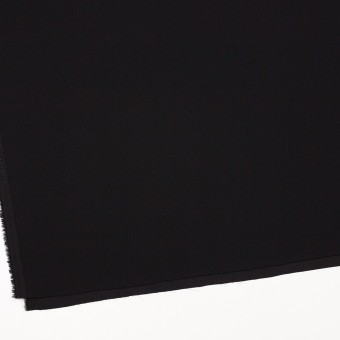 ポリエステル&トリアセテート×無地(ブラック)×バックサテンジョーゼット サムネイル2