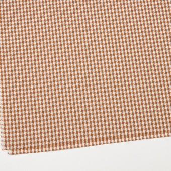 コットン&ポリエステル×スクエア(マロン)×ドビー織 サムネイル2