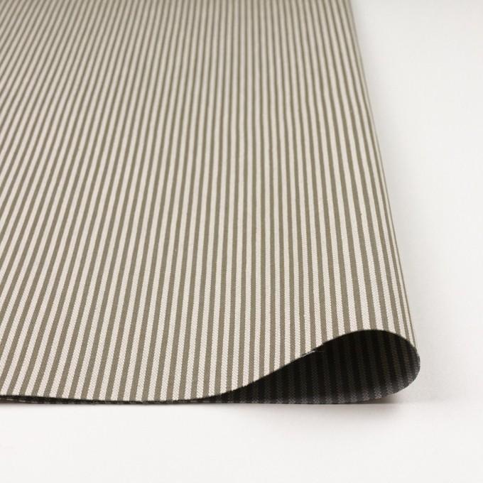 コットン×ストライプ(キナリ&オリーブ)×ヘリンボーン イメージ3