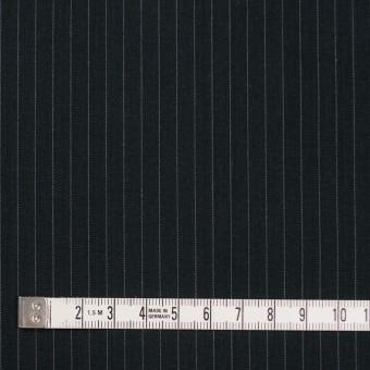 コットン×ストライプ(チャコールブラック)×ブロード サムネイル4