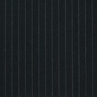 コットン×ストライプ(チャコールブラック)×ブロード サムネイル1