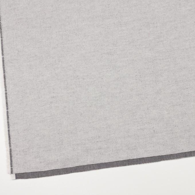 コットン×無地(シルバーグレー)×フランネル_全5色 イメージ2
