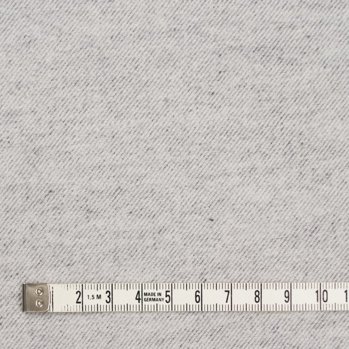 コットン×無地(シルバーグレー)×フランネル_全5色 イメージ4