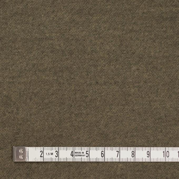 コットン×無地(カーキ)×フランネル_全5色 イメージ4