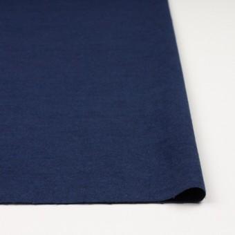 コットン×無地(ミッドナイトブルー)×フランネル_全5色 サムネイル3