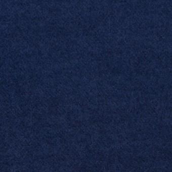 コットン×無地(ミッドナイトブルー)×フランネル_全5色