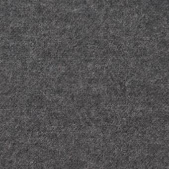 コットン×無地(グレー)×フランネル_全5色