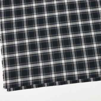 コットン×チェック(グレー&ブラック)×ビエラ サムネイル2