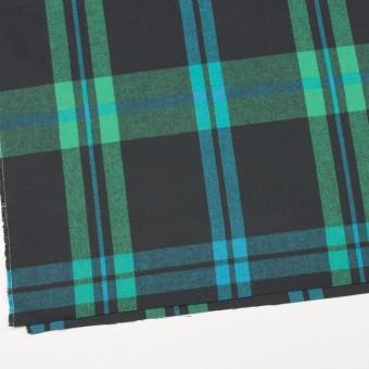 コットン×チェック(エメラルドグリーン&チャコールグレー)×ビエラ_全2色 サムネイル2