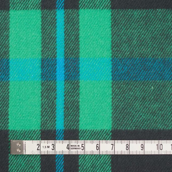 コットン×チェック(エメラルドグリーン&チャコールグレー)×ビエラ_全2色 イメージ4