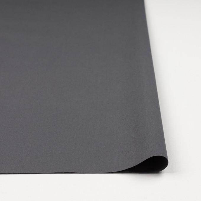 コットン×無地(スチールグレー)×ポプリン(ウェザークロス)_全4色 イメージ3