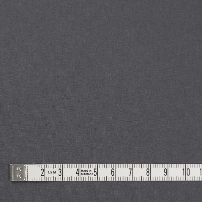 コットン×無地(スチールグレー)×ポプリン(ウェザークロス)_全4色 イメージ4