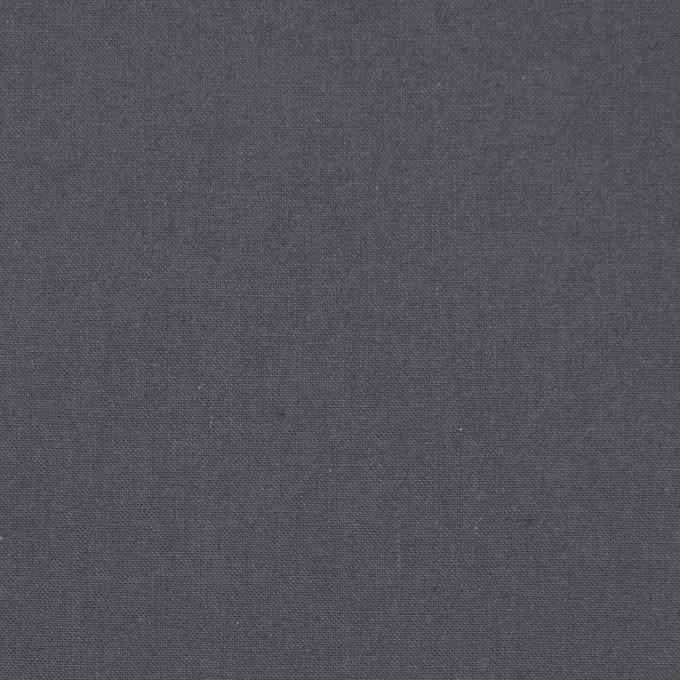 コットン×無地(スチールグレー)×ポプリン(ウェザークロス)_全4色 イメージ1