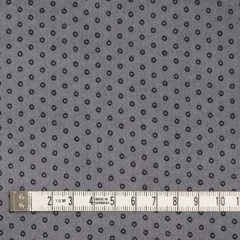 コットン&ポリウレタン×サークル(グレー)×ベッチンストレッチ サムネイル4