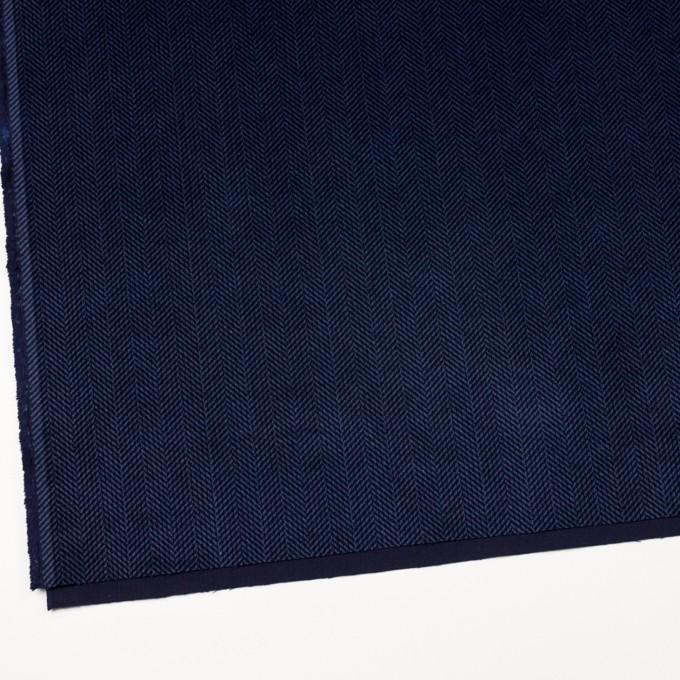 コットン×バイヤス(ブルーグレー&ネイビー)×中コーデュロイ イメージ2