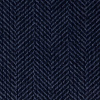 コットン×バイヤス(ブルーグレー&ネイビー)×中コーデュロイ