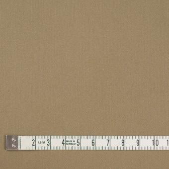 コットン&ポリウレタン×無地(カーキベージュ)×サテンストレッチ_全2色 サムネイル4