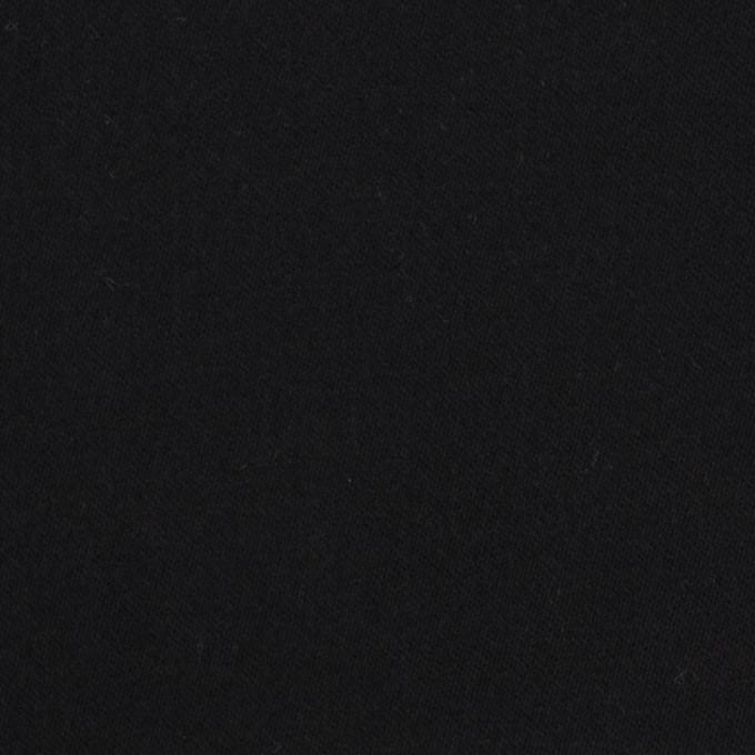 コットン&ポリウレタン×無地(ブラック)×サテンストレッチ_全2色 イメージ1