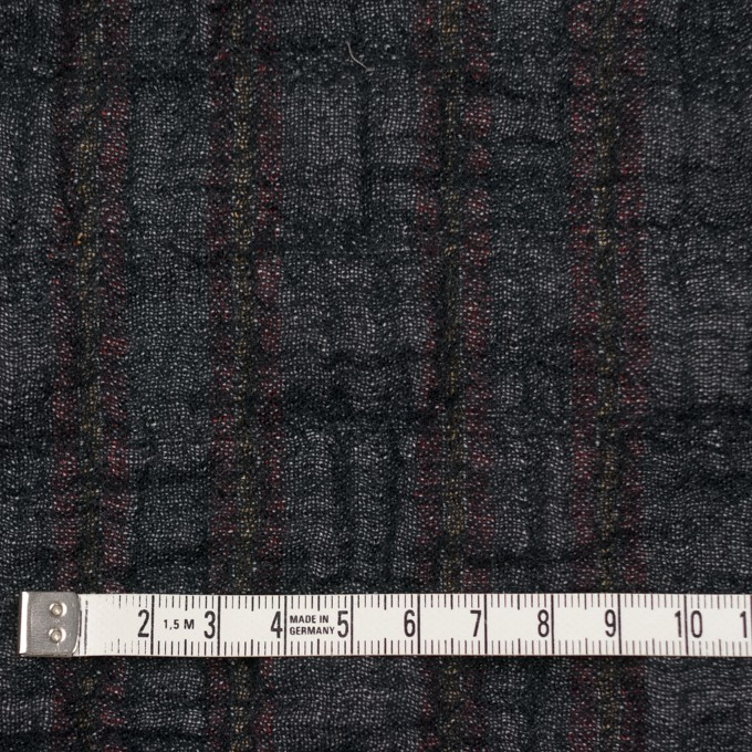 コットン&ポリウレタン×ミックス(マルチ)×トリプルガーゼ・シャーリング イメージ4