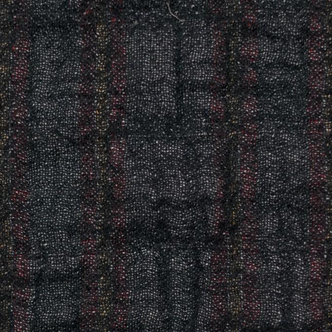 コットン&ポリウレタン×ミックス(マルチ)×トリプルガーゼ・シャーリング イメージ1