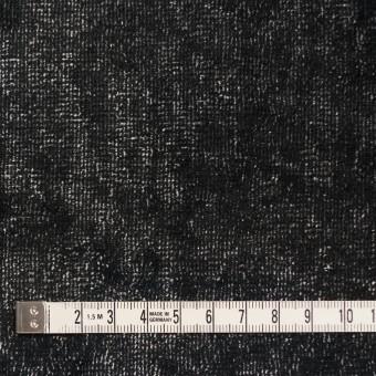 コットン&ポリエステル×ミックス(ブラック&シルバー)×ベルベット サムネイル4