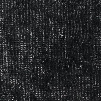 コットン&ポリエステル×ミックス(ブラック&シルバー)×ベルベット