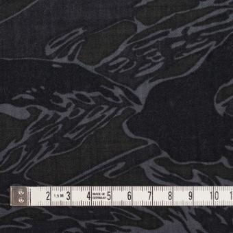 ウール×迷彩(チャコール)×サージ サムネイル4