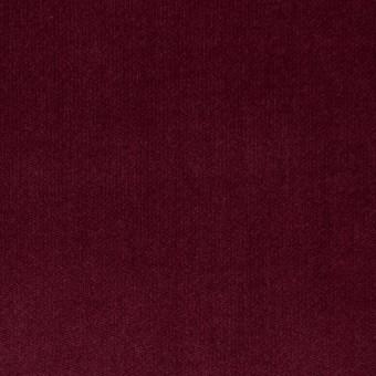 コットン&ポリウレタン×無地(ガーネット)×ベッチンストレッチ サムネイル1
