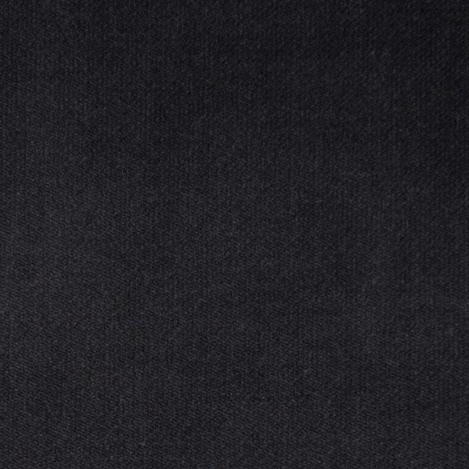 コットン&ポリウレタン×無地(チャコール)×ベッチンストレッチ イメージ1