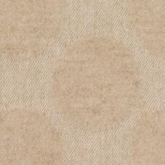 ウール&ナイロン混×サークル(ベージュ)×ジャガード サムネイル1