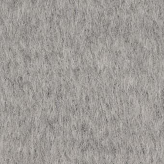 ウール×無地(ライトグレー)×シャギー サムネイル1