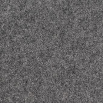 ウール&ナイロン×無地(グレー)×メルトン サムネイル1