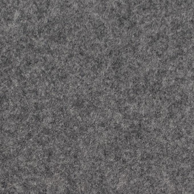 ウール&ナイロン×無地(グレー)×メルトン イメージ1